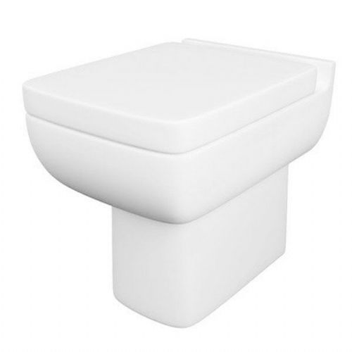 Kartell Options 600 Back To Wall - Premium Soft Close Seat - White
